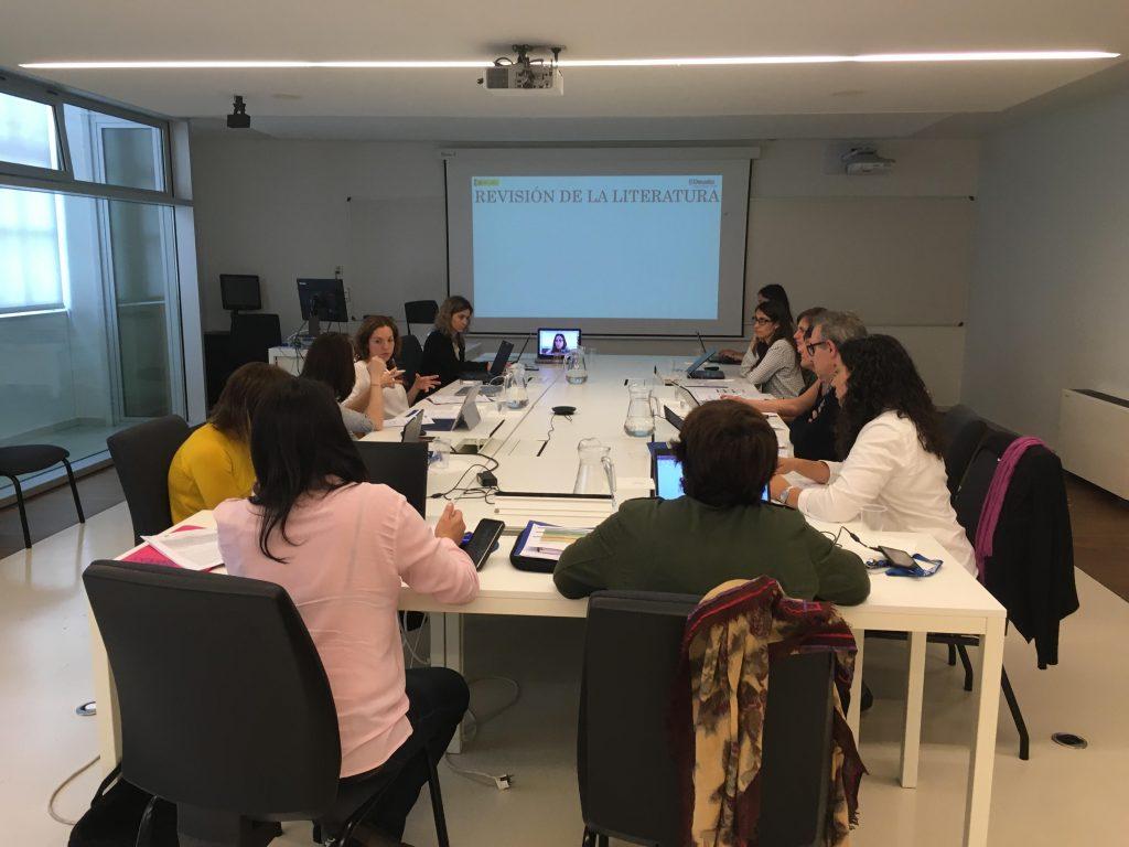 Primera reunión del equipo de investigación de INTER-ACT