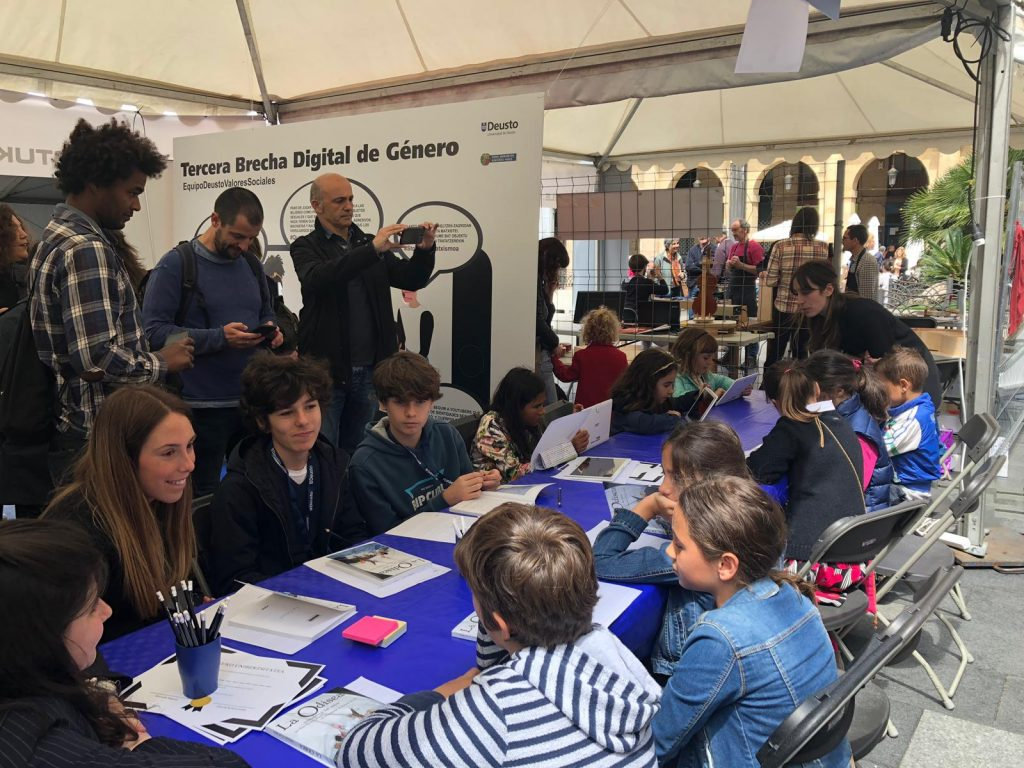 INTER-ACT en la Feria de la Ciencia de Bilbao
