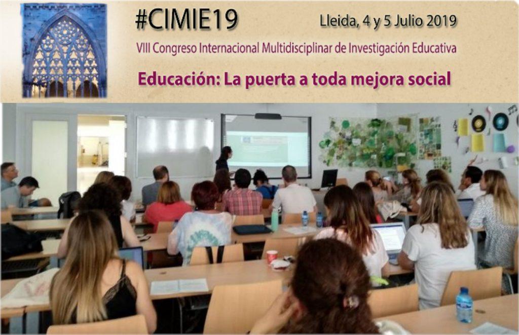 INTER-ACT en CIMIE 2019 (Congreso Internacional Multidisciplinar de Investigación Educativa)