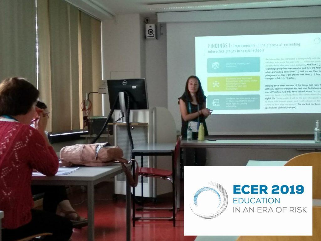Investigadoras de INTER-ACT presentan en el Congreso Europeo de Educación