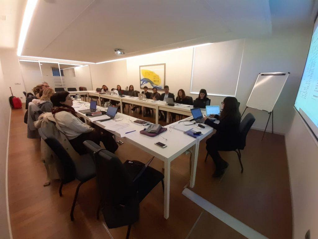 Segunda reunión del equipo de investigación de INTER-ACT