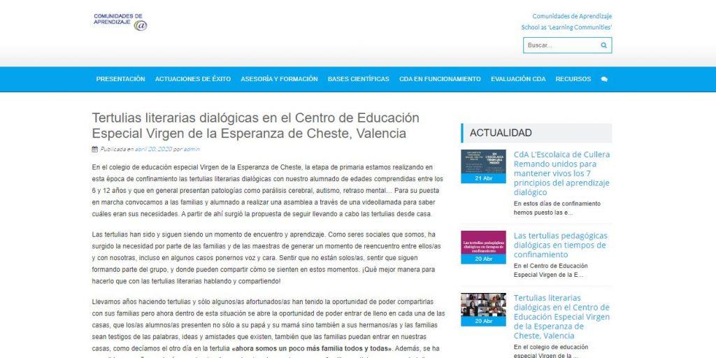 Las TLD, estudiadas en INTER-ACT, siguen contribuyendo a la mejora educativa en el confinamiento