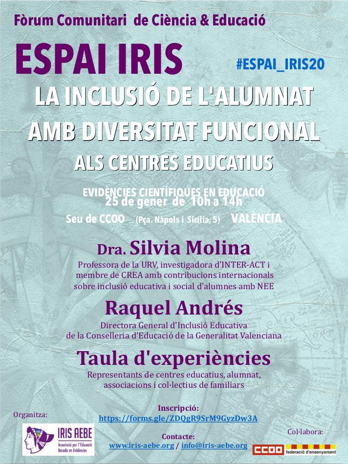 INTER-ACT en el II Foro Comunitario de Ciencia y Educación ESPAI IRIS