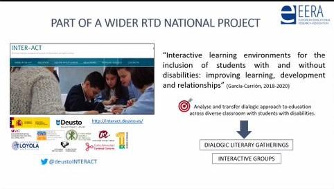 Resultados de INTER-ACT en el Congreso Europeo de Educación
