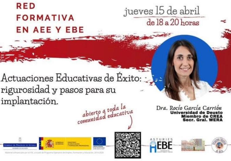 Presentación de resultado de INTER-ACT en AEBE Asturias